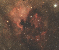 Ngc 7000 - Nébuleuse North America